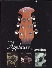 #MISC-0324 - 1998 OVATION APPLAUSE GUITARS musical instrument catalog