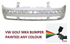 GOLF MK4 IV   FRONT BUMPER ABS PLASTIC ** PAINTED ANY COLOUR ***
