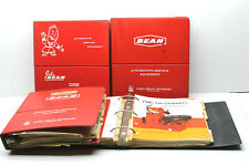 4 1960s John Bean Product Service Bulletin Binders Barrett Brake Automotive Info
