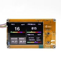 HCHO PM2.5 formaldehyde temperature humidity detector meter For Plantower sensor