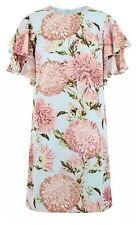 BNWT New Warehouse Pom Pom Floral Print Shift Dress - Size 10 NEW