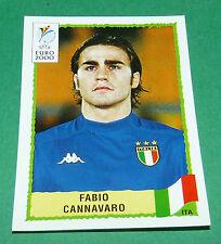 N°169 FABIO CANNAVARO ITALIA ITALY ITALIE PANINI FOOTBALL UEFA EURO 2000