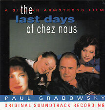 The Last Days of Chez Nous-1992-Original Australia Movie Soundtrack-13 Track-CD