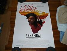 SARAFINA! Movie ORIGINAL Poster WHOOPI GOLDBERG Leleti Khumalo MIRIAM MAKEBA