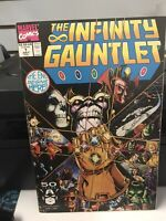 The Infinity Gauntlet #1 (Jul 1991, Marvel) NM .. WP.. NICE