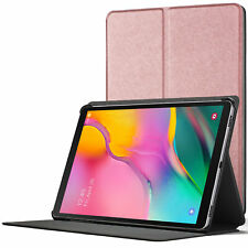 Samsung Galaxy Tab A 10.1 2019 Case | Magnetic Protective Cover Stand Rose Gold