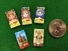 Accessories Dollhouse Miniature Chocolate Bar Re-ment Size #706