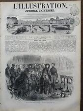 L'ILLUSTRATION 1851 N 445 ANNIVERSAIRE DE LA MORT DE LOUIS-PHILIPPE,A WEYBRIDGE