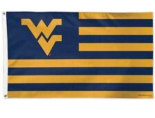 West Virginia University Mountaineers Stars & Stripes Deluxe Grommet Flag 3'x5'