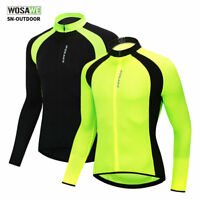 Cycling Jersey for men long sleeve bike tops bicycle riding jersey S M L XL XXL