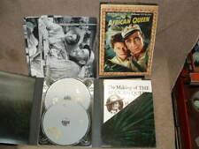 2 Dvd Set W/ Hc Book & B&W Pictures The African Queen Bogart & Hepburn