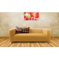 Einfarbige Sofabezüge 2-Sitzer-Sofa