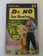 1st Ed - 1st Print DR. NO Ian Fleming Pan PB 007 James Bond 1958 -Hospiscare