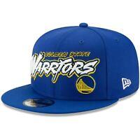 Golden State Warriors New Era Retro Graffiti 9FIFTY Adjustable Hat - Royal