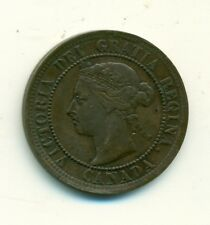 Canada 1 cent 1891 VF+ SDSL Obverse 3