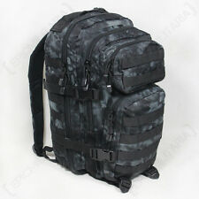 Mandra Notte Camo Molle Zaino Assalto SMALL BAG 20L Zaino TACTICAL PACK