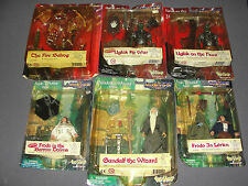 Lot of 6 Lord Of The Rings Figures-Frodo,Gandalf,Ugluk War/Hunt,Fire Balrog