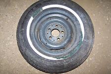 """mercedes unused wheel steel 13"""" with original dunlop tire unused 1104001102"""