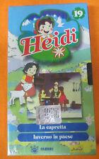 VHS film HEIDI 19 La capretta Inverno in paese SIGILLATA FABBRI (F186) no dvd