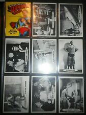 1965 SUPERMAN COMPLETE(66) CARD SET & WRAPPER TOPPS  (BEAUTIFUL CRISP MINT)