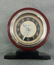 BAKELITE ART DECO NEW HAVEN CLOCK Machine Age