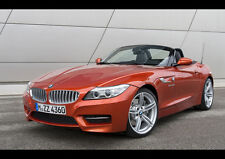 BMW Z4 ROADSTER NEW A2 CANVAS GICLEE ART PRINT POSTER