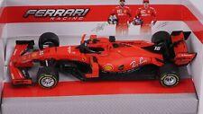 Charles Leclerc Ferrari SF90 1/43 Bburago Modellino F1 2019