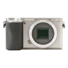 Sony Alpha a6400 Mirrorless 24.2MP 4K Digital Camera Body Silver
