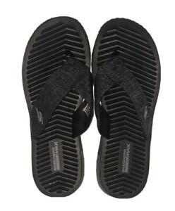 Skechers Flip Flop Go Flex Women's Black Size US 9 FREE SHIPPING BRAND NEW