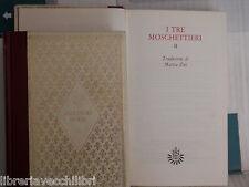 I TRE MOSCHETTIERI Alexandre Dumas Giorgio Manganelli M Zini Due volumi romanzo