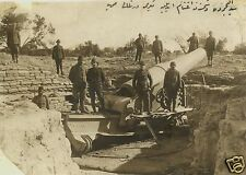 Ottoman Turkish Soldiers Army Artillery World War 1, 5.5x4 Inch Photo Reprint 1
