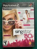 SingStar: '80s (PlayStation 2, PS2)