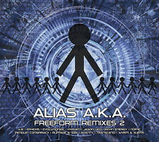 ALIAS A.K.A. - FREEFORM REMIXES 2 - 2xCD - KEVIN ENERGY/EPHEXIS/HYPHEN/NOMIC/A.B