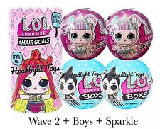 LOL Surprise Makeover Series 5 WAVE 2 Hairgoals Doll Sparkle Sister 6 BOYS Ball