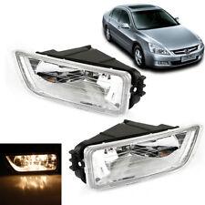 For 03-07 Honda Accord Clear Lens Car Front Bumper Driving Fog Light WJ30014209