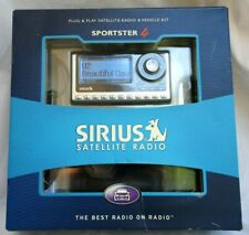 SIRIUS SPORTER 4..SATELLITE RADIO RECEIVER..SP4-TK1