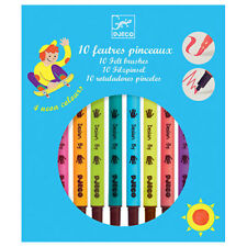 Djeco Felt Brushes 'Pop' Colours