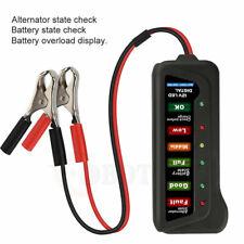12V Car Vehicle Battery Load Tester Alternator Analyzer Diagnostic Tool 6 LED