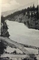 Postcard, Bow River Falls Banff, Bow Valley Canada, Vintage P19