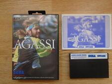 Sega Master System Tennis Video Games with Manual