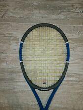 New listing Wilson Triad 3 Three Tennis Racquet, 113 sq. in., Oversize, 16X19, 4 3/8, Strung