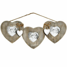 Wooden Heart Multi-Picture Frames
