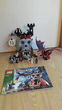 Lego 7093 Skeleton Tower Castle Fantasy Era 100% Complete With Instructions