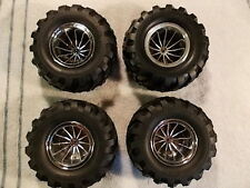 DA-13 DA-14 Spike Tire & Wheel Set - Kyosho Double Dare Hi-Rider Vette Big Boss