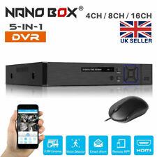 More details for smart cctv dvr recorder 4/8/16 channel 1080n hdmi ahd home secutiy system kit uk