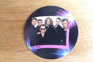 INXS  ANGLO BUBBLEGUM  MR.DJ  POP MUSIC  CARD #44 1988  MINT SCARCE