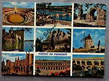 MULTIVUES PROVENCE ARLES AVIGNON TARASCON NIMES ST REMY BAUX PROVENCE  postcard