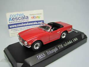 Solido 1/43 Triumph tr6 cabriolet 1969 1855 cochesaescala