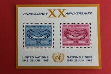 1965 United Nations stamp unused