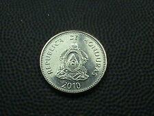 HONDURAS   20 Centavos  2010  UNCIRCULATED ,  $ 2.99  maximum  shipping  in  USA